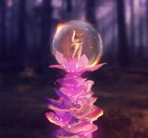 Conception Of A Fairy by Manon-M