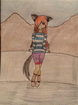Tmnt oc Amy (new changes) by ashes-the-wolf