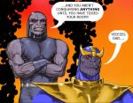 TLIID - Shock! Thanos is the son of Darkseid by Nick-Perks