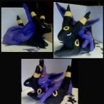 umbreon and espeon Statue by enyce122