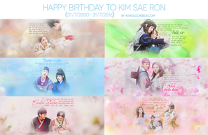 ( STOP SHARE ) Happy birthday to Kim Sae Ron by KeroLee2k
