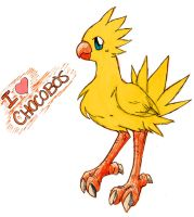 Chocobo by nomers-sushi