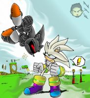 CLASH Silver VS Silver by theEyZmaster