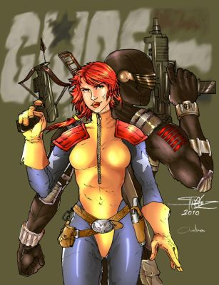 G. I. JOE by ZHERODIGITAL by amha