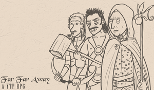 Far Far Away Title Screen by TheKatanaSoul