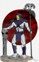 Skeletor the Lord of Destruction by Verhelm