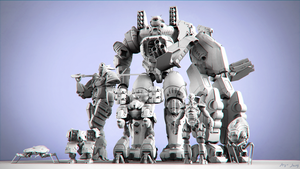 Team Mecha by sergiosoares