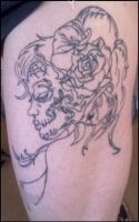 Day of the Dead- 5th tattoo by Lady-Nat