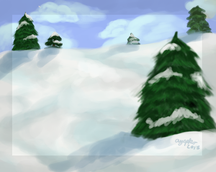 Speed paint-background practice by TheG00sey