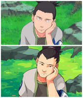 Shikamaru screencap redraw by rontufox