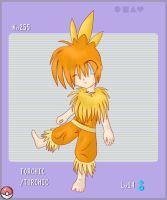 PKMN Gijinka Project: Torchic by Yoshiie