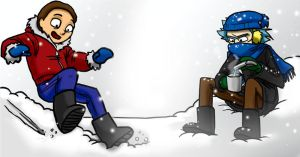 Rick and Morty - Snowday by jameson9101322