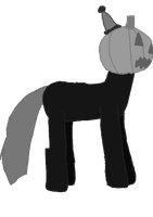 Pumpkin grey-scale by WoefulWriters