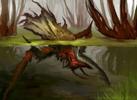 Concept: Biped Insectoid by DefiledVisions