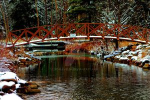 Little Red Bridge by scaleveler