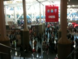 Anime Expo is FREAKING CROWDED by Fainting-Ostrich