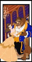 BEAUTY AND THE BEAST by Rob32
