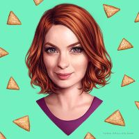 Felicia Day by aqueous-transmission