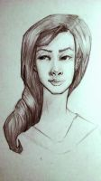 Female Portrait Study by LadyLanguid