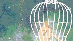 bird in a cage base by Hikaru1023