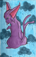 Rainy Day Espeon by PracticallyGeeky