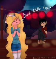 Bad little boy by Drawing-Heart