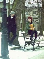 In the park. by asato-shion