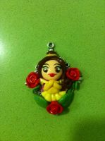 Belle pendant by anapeig
