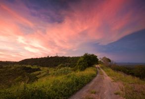Evening Colours at Bald Knob by eye-of-tom