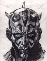 Sith Lord Darth Maul by kinkykrueger