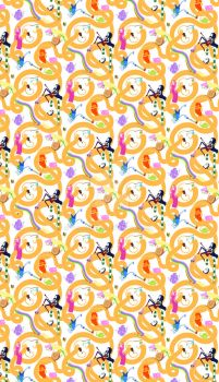 Adventure Time Looping Pattern by VoidBurger
