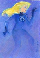 Invisible Woman color card by LEXLOTHOR