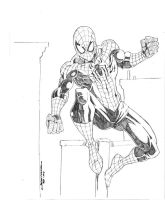 10,000th Spider-Man Sketch. by Onore-Otaku
