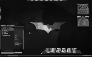 Dark Knight Desktop by a666a