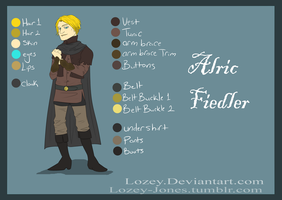 Alric Fiedler Reference Sheet May 11, 2013 by Lozey