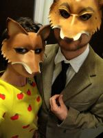 MR and Mrs Fox by faerywhere