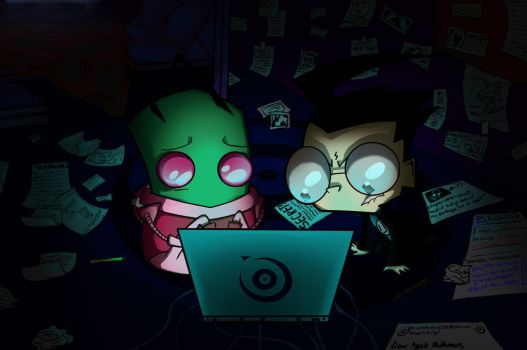 Up all night deciphering stuff by Tijopi11