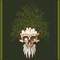 Vine Skull by odarbo