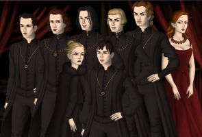 The Volturi by Sunshine-Girl524