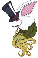 The Gentleman Squid Bunny by TheMonkeyLord