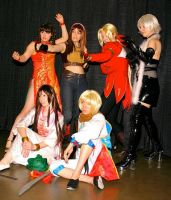 Dead or Alive 4 Group by kakumei-media