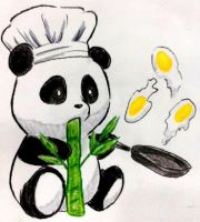 Chef Panda by EmoHoodieDude