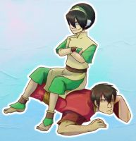 Toph tops by lady-voldything