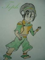 Avatar the last airbender- Girls -Toph by BlckRaven