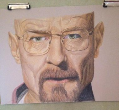 Walter White by jodiewonford