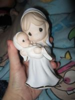 precious moments mary figure by chappy-rukia