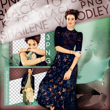 PNG Pack(57) Shailene Woodley by dlyerdem