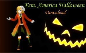 Fem. America Halloween DOWNLOAD by Ringtail14