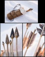 Prehistorical Quiver and Arrows - Rahan by Carancerth
