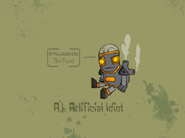 A.I: Artificial Idiot by Meatball-man